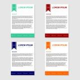 Letterhead Template Design - Vector vector illustration
