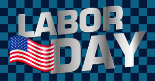 Lettering Labor Day Royalty Free Stock Image