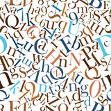 lettering Patterns Stock Image