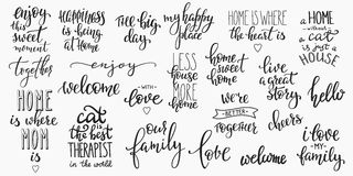 Free Lettering Photography Overlay Set. Stock Images - 82805284