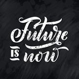 Lettering poster. Motivational quote about gadgets and technology. Hand drawn composition. Monochrome vector royalty free illustration