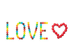 letterpress ανασκόπησης grunge τυχαία λέξη τύπων αγάπης Στοκ φωτογραφία με δικαίωμα ελεύθερης χρήσης