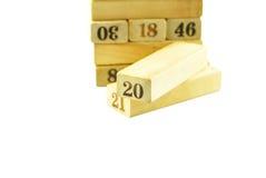 Letterpress ξύλο Στοκ φωτογραφίες με δικαίωμα ελεύθερης χρήσης