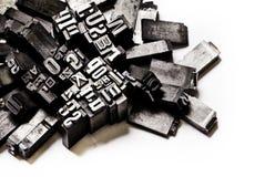 letterpress предпосылки стоковое изображение