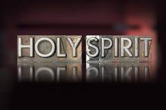 Letterpress святого духа Стоковая Фотография