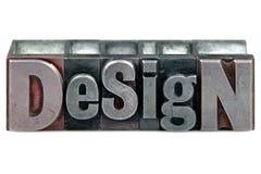 Letterpress Design Royalty Free Stock Photo