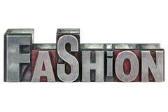 Letterpress Fashion royalty free stock image
