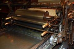 letterpress vandercook Στοκ εικόνα με δικαίωμα ελεύθερης χρήσης