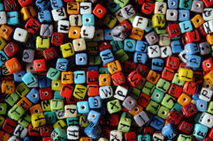 Letters Royalty Free Stock Photo