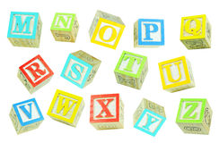 Letters (2) Stock Image