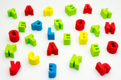 Letters Stock Photography