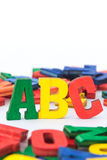 Letters: ABC II Royalty Free Stock Image