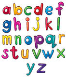 Letters of the alphabet artwork Stock Photography