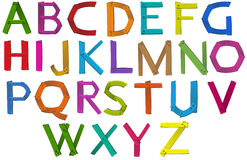 Letters of the alphabet Stock Image