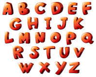 Letters of the alphabet Stock Photography