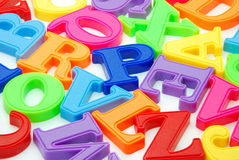 Letters background Royalty Free Stock Images