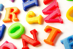 Letters background Royalty Free Stock Photos