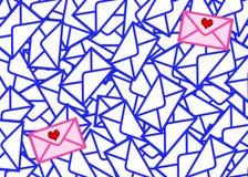 Letters det mest värdefull Arkivbild