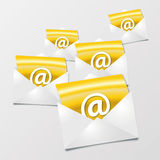Letters and emails Stock Photos