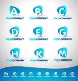 Letters Logo Royalty Free Stock Image