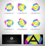 Letters Logo Design Stock Images