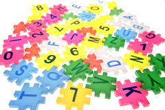 Letters & numbers Stock Photos
