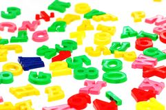 letters olikt Arkivfoton
