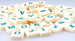 Letters in a pile Stock Image
