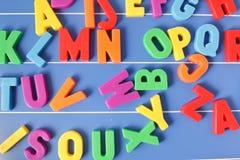 letters plast- Arkivbild