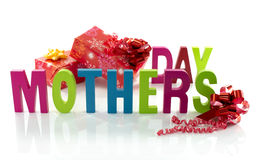 Text for mothers day Royalty Free Stock Photography