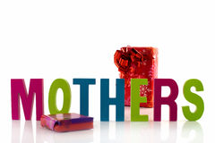Text for mothers day Stock Images