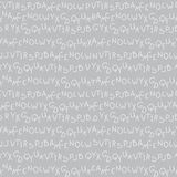 The letters. seamless texture Royalty Free Stock Photo