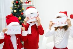 Letters to Santa Royalty Free Stock Photography