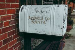 Letters to Santa Royalty Free Stock Image