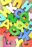 letters trä Royaltyfri Bild