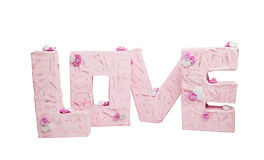 The letters of the word Love Stock Images