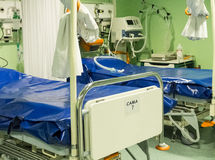 letti di ospedale Fotografie Stock
