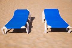 Lettini nella sabbia Fotografie Stock Libere da Diritti