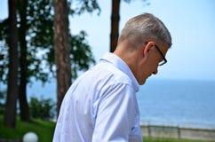Lettischer Präsident Valdis Zatlers an seinem Abschied m Stockfotografie