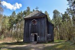 Lettisches ethnographisches Freiluftmuseum in Riga Lizenzfreies Stockfoto