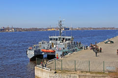 Lettisches Patrouillenschiff Lizenzfreie Stockfotografie