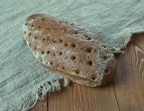 Lettisches traditionelles Brot Lizenzfreies Stockbild