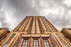 Lettisk akademi av vetenskaper Royaltyfri Fotografi