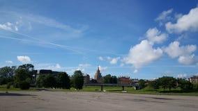Lettisk akademi av vetenskaper arkivbilder