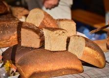 Lettiskt bröd Arkivbild