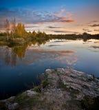Lettiskt landskap Royaltyfri Bild
