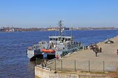 Lettiskt patrullskepp Royaltyfri Fotografi