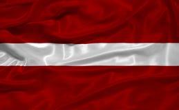 Lettland-Markierungsfahne 3 Lizenzfreies Stockfoto
