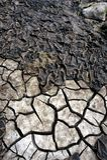 Letto 2 di siccità immagine stock libera da diritti