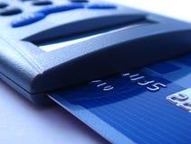 Lettore della carta di credito immagini stock